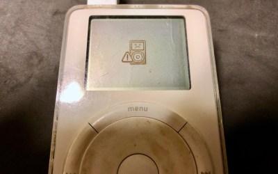 Restauration d'un iPod 1G