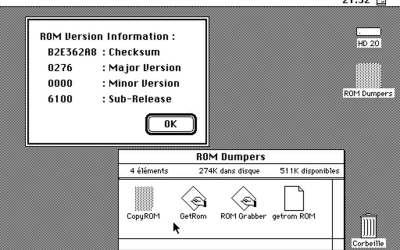 Extraire la ROM d'un vieux Mac