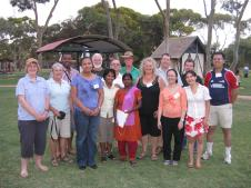 The group of nations at the multicultural picnic