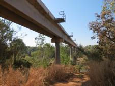Rail bridge over the Katherine River
