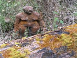 This big scary wooden monster stalked through the forest