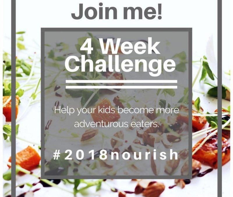 The #2018nourish Challenge
