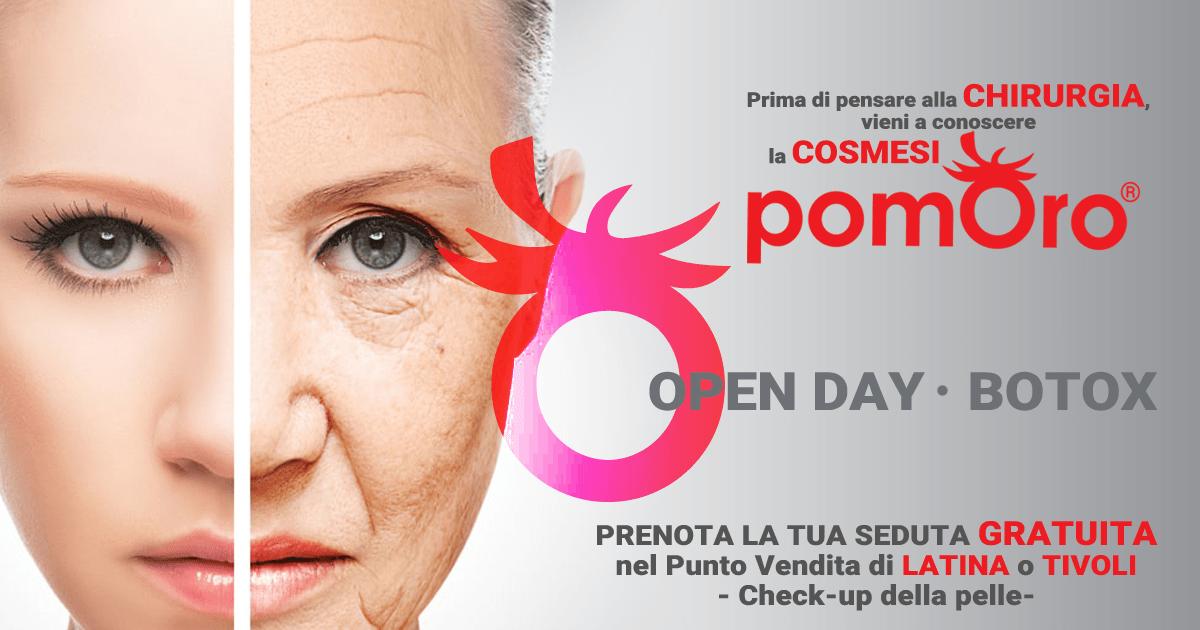 Open Day | Giornata BOTOX da Pomoro
