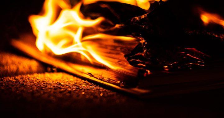 Tíntín en llamas