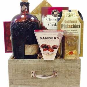 Rustic Tucker Bourbon Gift Basket