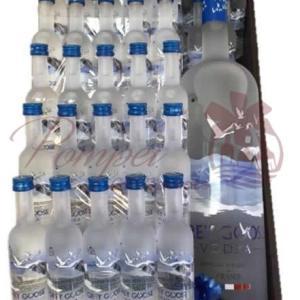 Waves of Grey Vodka Gift Basket