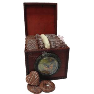 Cocoa Time Chocolate Gift Basket, chocolate gift basket, chocolate platter, chocolate box, free chocolate delivery, chocolate delivered, pompei gift baskets