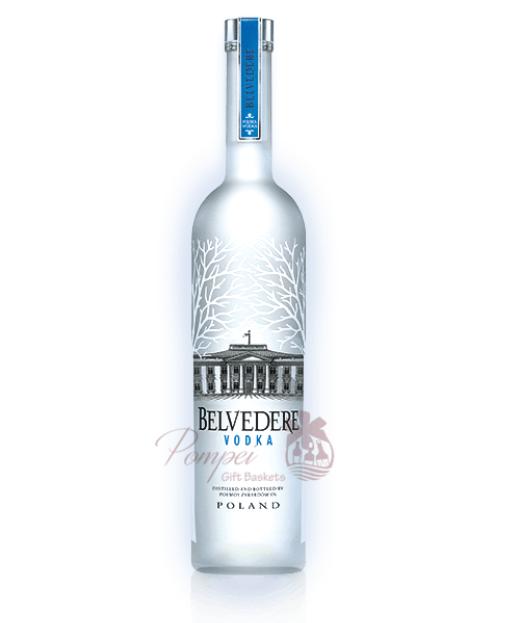 1.75L Belvedere Light up Bottle