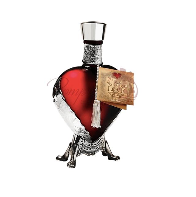 Heart Shaped Tequila Bottle