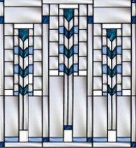 Frank Lloyd Wright Inspired Window 1