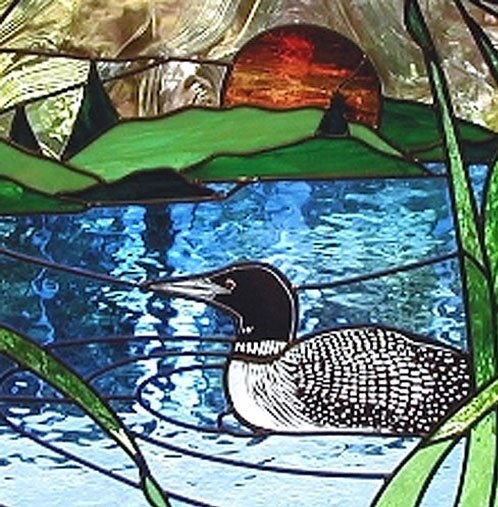 Stained Glass Scene Window Designs