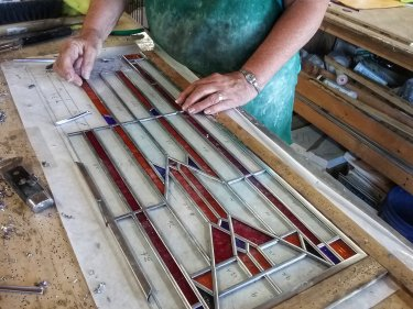 Stained Glass Assembly 3