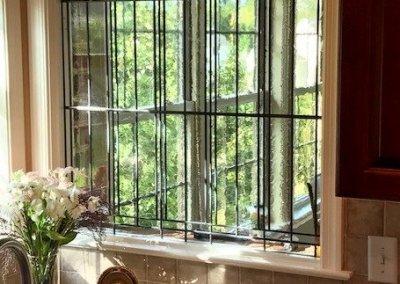 Stained Glass Bathroom window