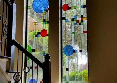 Coonley playhouse stained glass window