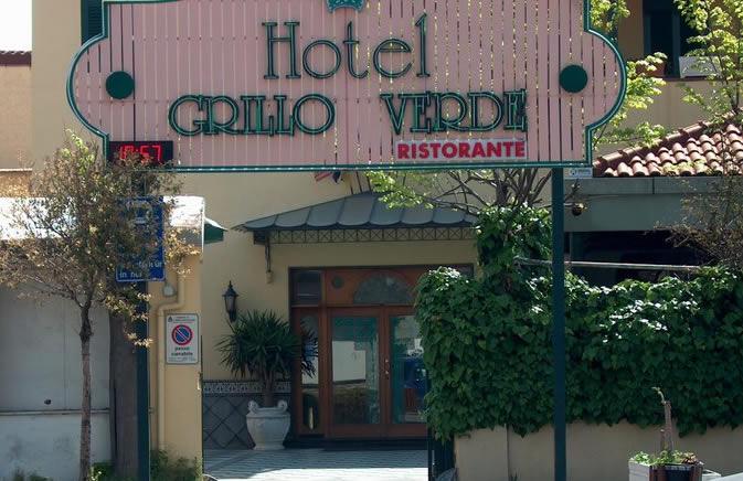 Pompei Hotel Grillo Verde entrance