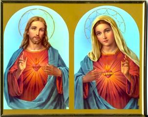 Najświętsze Serce Jezusa i Niepokalane Serce Maryi