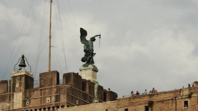 Zamek św. Anioła – zbliżenieW