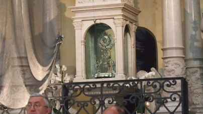 Monstrancja z cudu eucharystycznego
