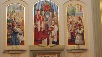 Scenka z życia Licheńskiego Kościoła