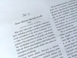Świadectwo numer 3001 – strona 1