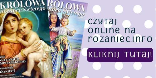 """Czasopismo różańcowe """"Królowa Różańca Świętego"""""""