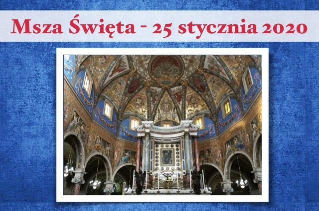 Msza św. w Pompejach – 25 stycznia 2020