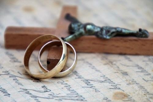 Małżeństwo i obrączki