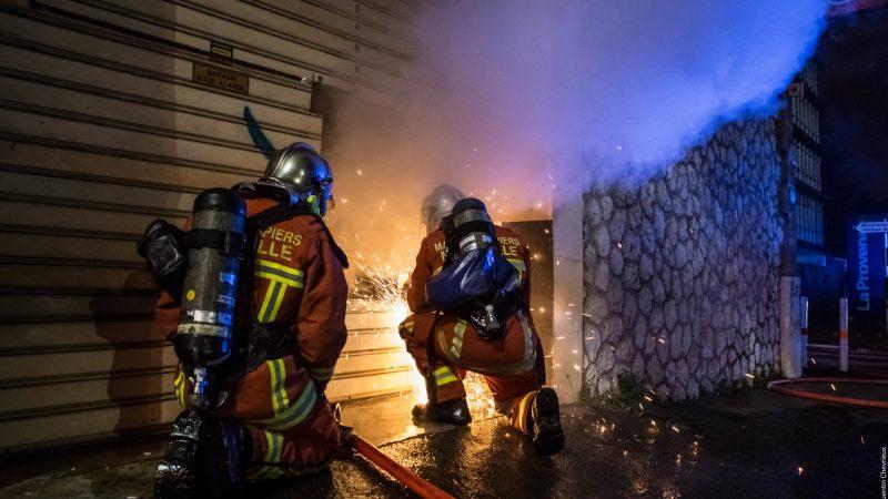 ?? Marseille (13) : Incendie dans un magasin de cosmétiques