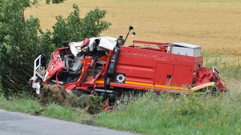 🇫🇷 RD92 : Deux pompiers volontaires perdent la vie dans un accident