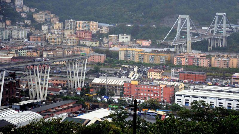 ?? Gênes : Un viaduc de l'autoroute A10 s'écroule