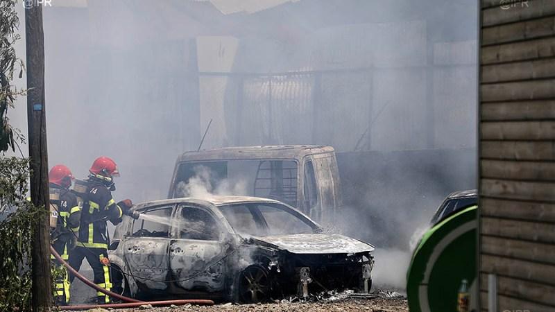 ?? Cambaie (974) : Un employé décédé et 12 pompiers blessés dans un feu d'entrepôt