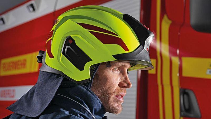 🇫🇷 Loire (42) : Nouveau casque pour les pompiers Ligériens
