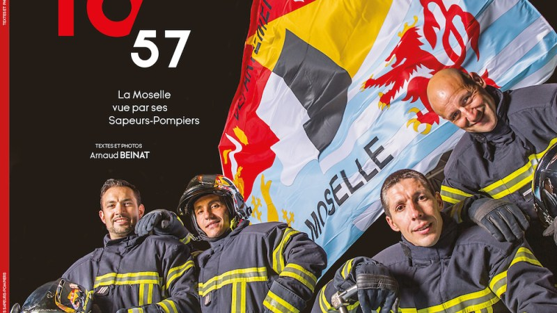 🇫🇷 Moselle (57) : Les pompiers mosellans sortent leur livre « 18 57 »