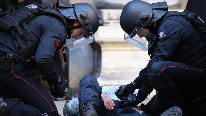 ?? Paris (75) : Coopération de la BRI et de la BSPP lors d'exercices communs au 36 Quai des Orfèvres