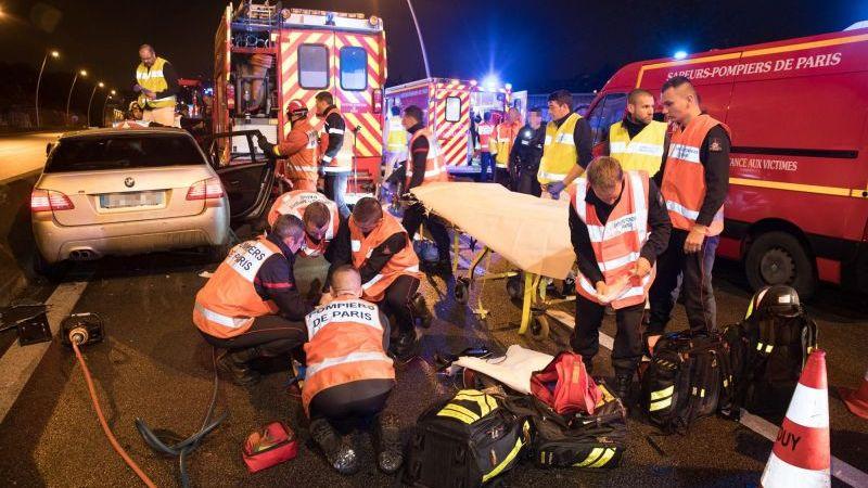 ?? A13 : Un pompier de Paris gravement blessé dans un sur-accident