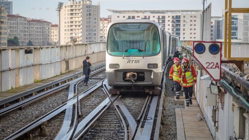 🇫🇷 Marseille (13) : Déraillement partiel d'une rame de métro, de nombreux blessés