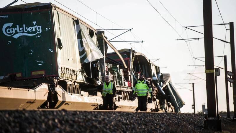 🇩🇰 Danemark : Un accident de train fait plusieurs morts