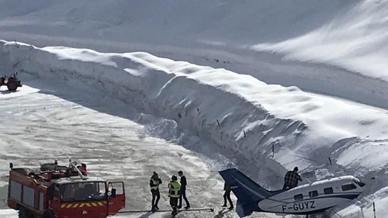 🇫🇷 Courchevel (73) : Un aéronef rate son atterrissage sur l'altiport