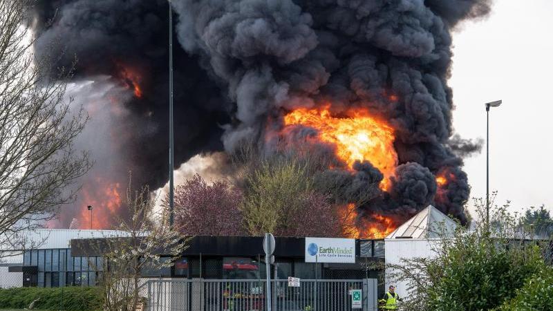 🇫🇷 Billy-Berclau (62) : Incendie dans une entreprise de conditionnement plastique