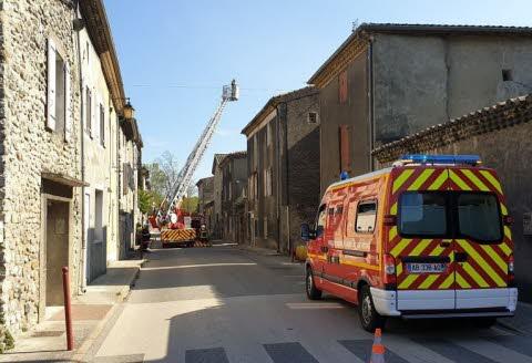 ?? Baix (07) : Une maison part en fumée sans faire de blessé