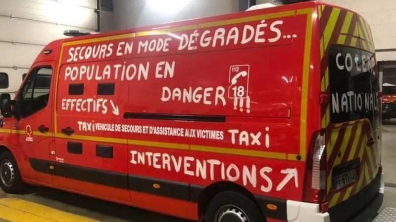 ?? France : Les pompiers professionnels en grève tout l'été