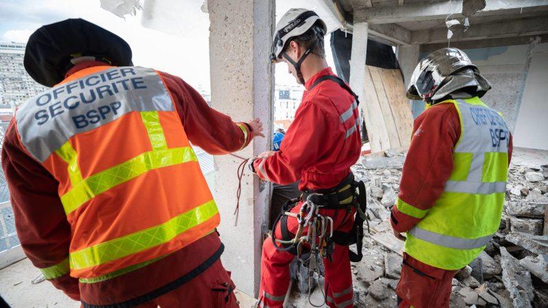 ?? Paris (75) : Un mort et trois blessés graves dans l'effondrement d'un échafaudage