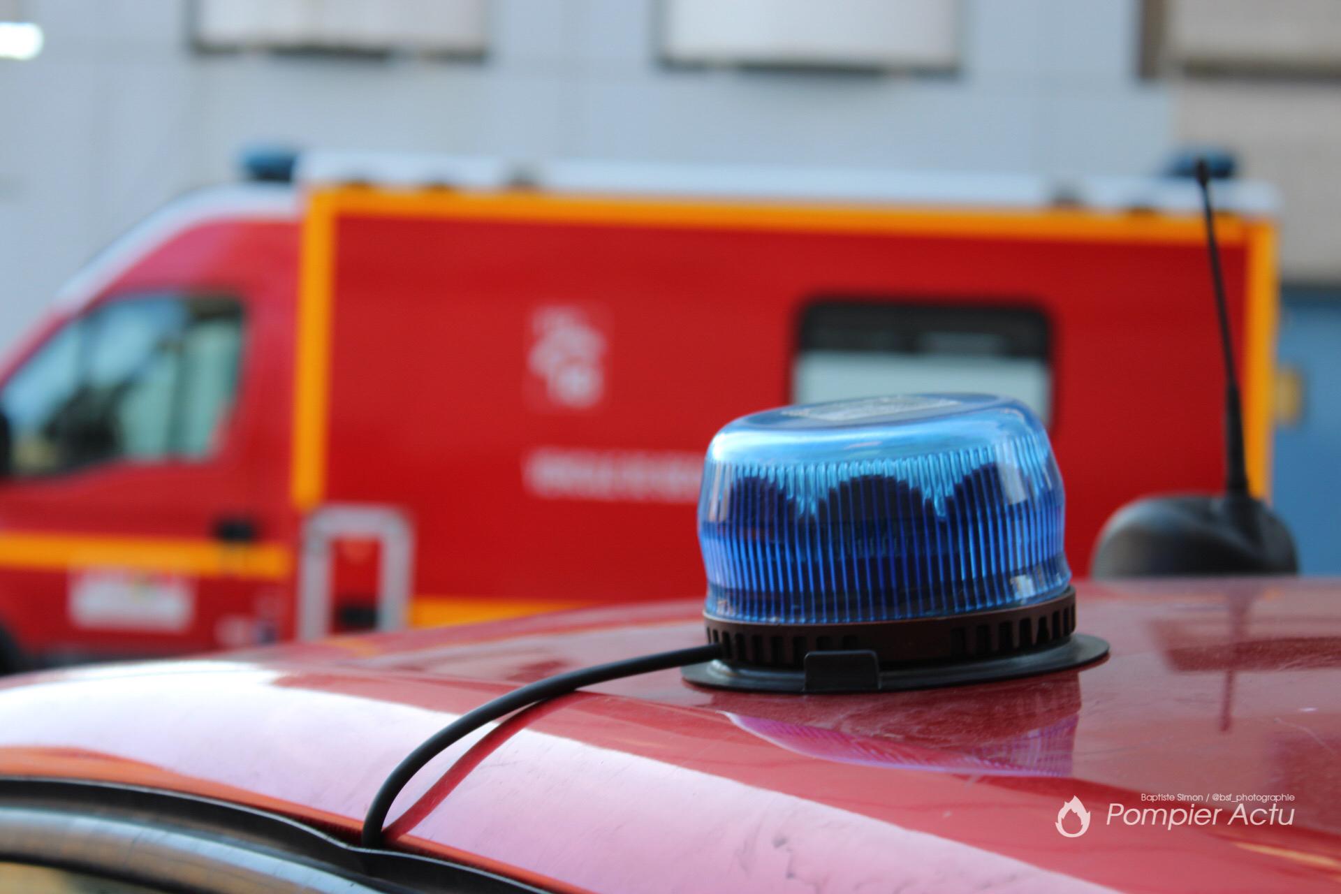 🇧🇪 Courcelles : Une semi-remorque percute un camion de la DIR Belge