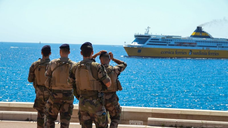 ?? Toulon (83) : Une voiture écrasée par une amarre d'un ferry