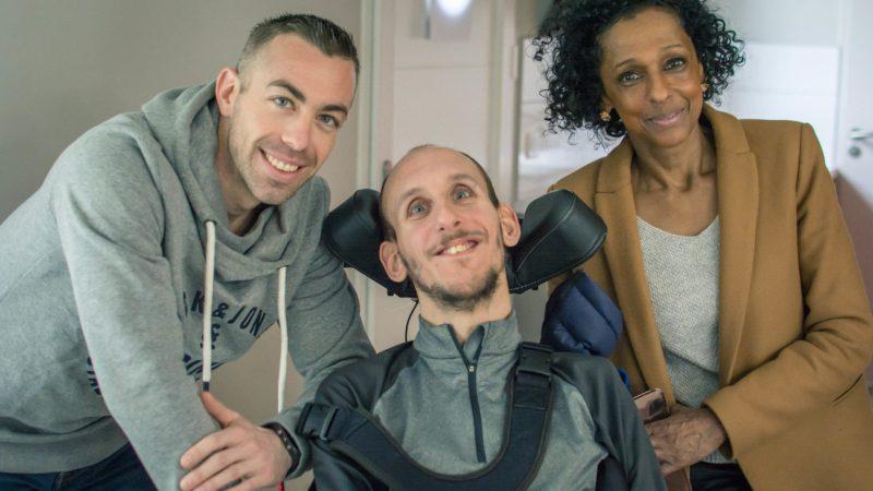 Tétraplégique, Julien Brunet s'entraîne avec un pompier professionnel pour l'Ironman de Nice 2021