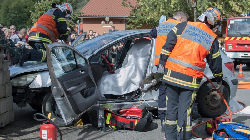 🇫🇷 Replonges (01) : Un blessé grave dans un accident de la circulation
