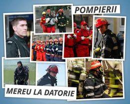 Pompierii profesionisti nu sunt asigurati