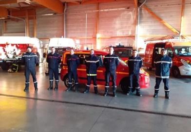 COVID-19 / Solidarité des sapeurs-pompiers avec l'Hôpital Nord Franche Comté
