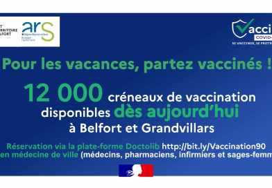 Pour les vacances, partez vaccinés !