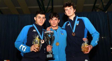 Coppa del Mondo U20 a Udine: Armaleo sul gradino più alto del podio